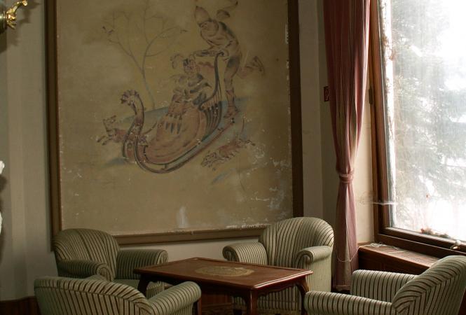 Waldlust - Festsaal - Wandmalerei