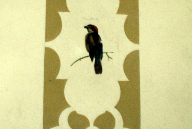 Waldlust - Zwitscherstube - Wandmalerei
